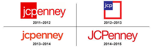 JC PENNEY worst logo redesigns