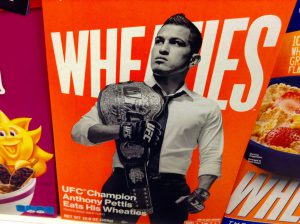 Wheaties Cereal Champion Anthony Pettis
